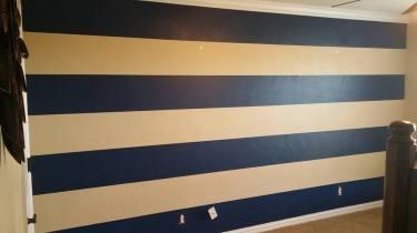 Navy Horizontal Stripes