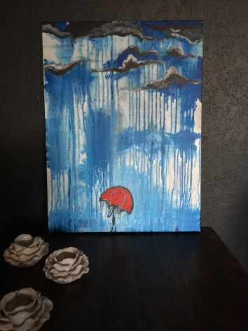 """When It Rains"" 24""x36"" Acrylic on Canvas"